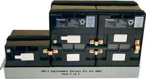 DISC PBA-6 Replacement Battery Kit for GE AMX-IV